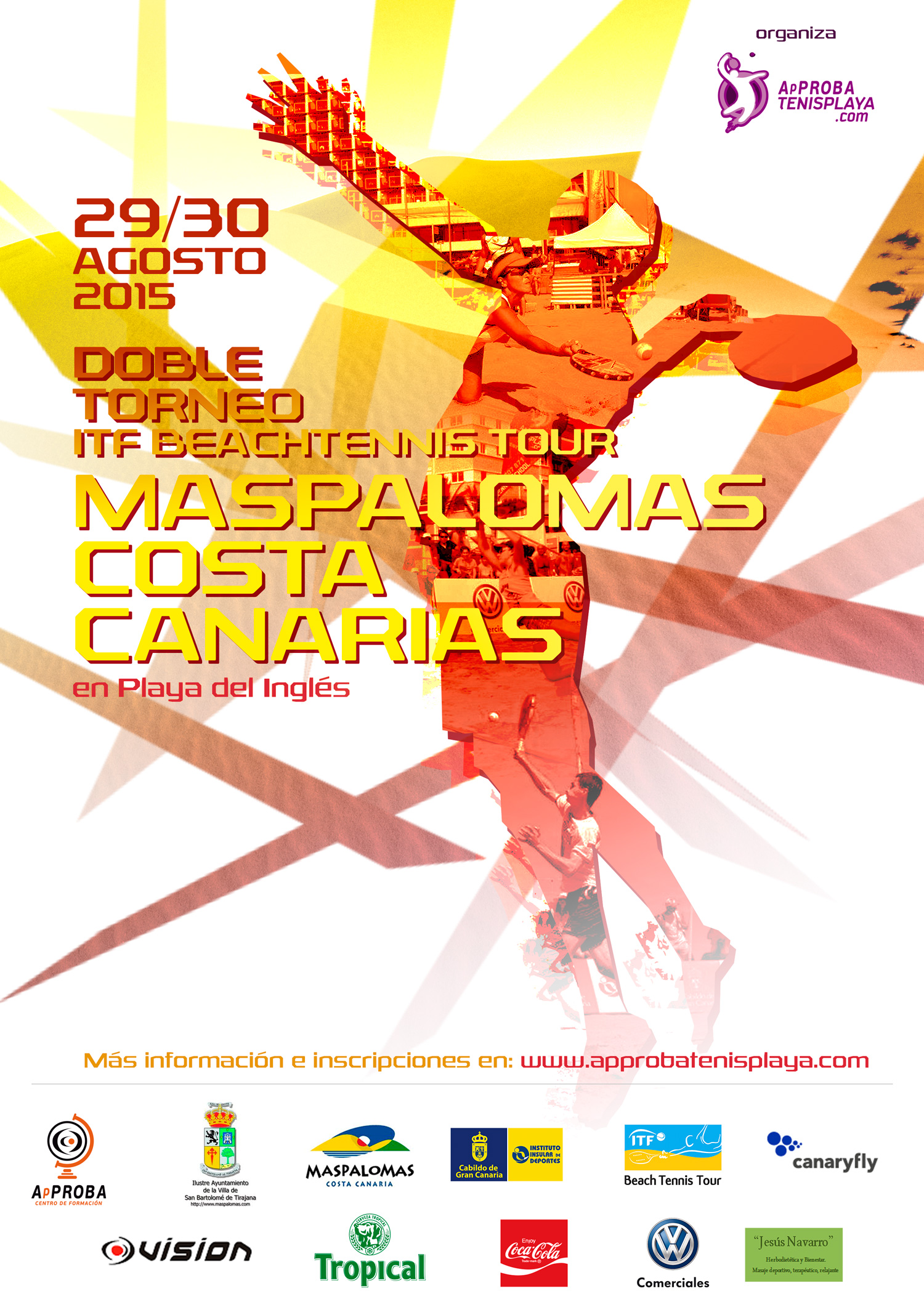 Cartel definitivo Doble Torneo Maspalomas Costa Canaria web